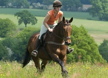 Horse riding in the Shropshire Hills