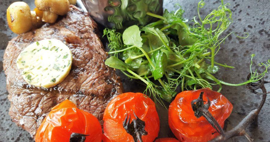 Premium 8oz rib eye steak